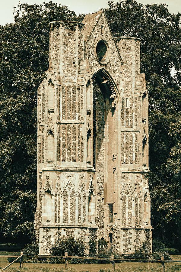 Walsingham priory retro by Paul Cowan