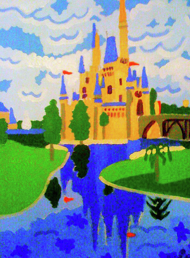 Walt Disney World Painting