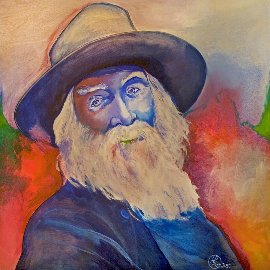 Walt Whitman Painting - Walt Whitman by Robert Lacy