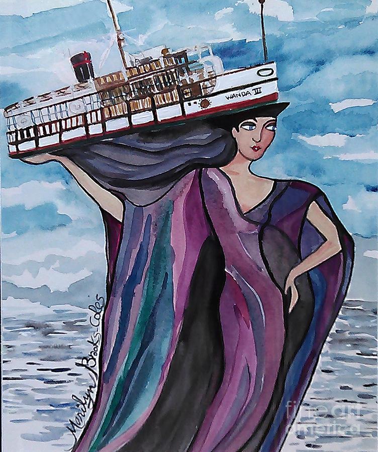 Wanda Painting - Wanda IIi by Marilyn Brooks