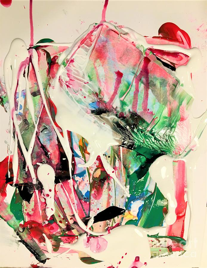 Abstract Painting - Wanderlust by Dr Ernest Williamson III