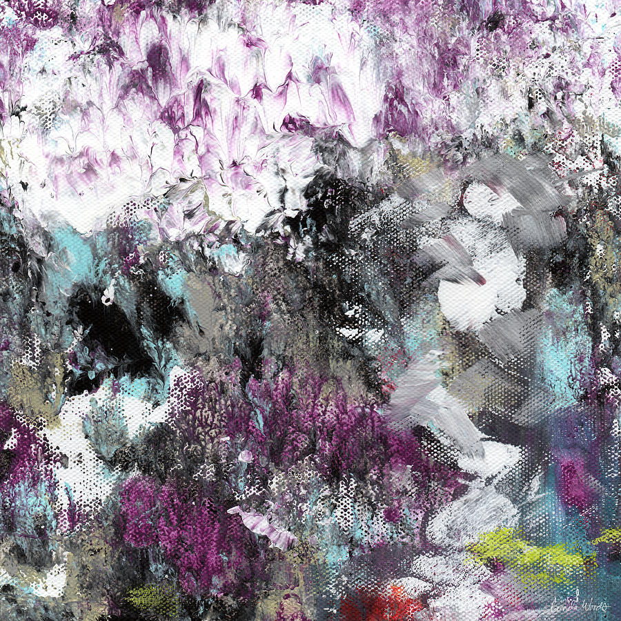 Abstract Painting - Wanderlust- Abstract Art By Linda Woods by Linda Woods