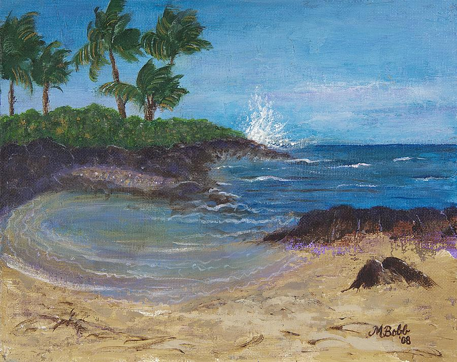 Hawaii Painting - Wanna Go by Margaret Bobb