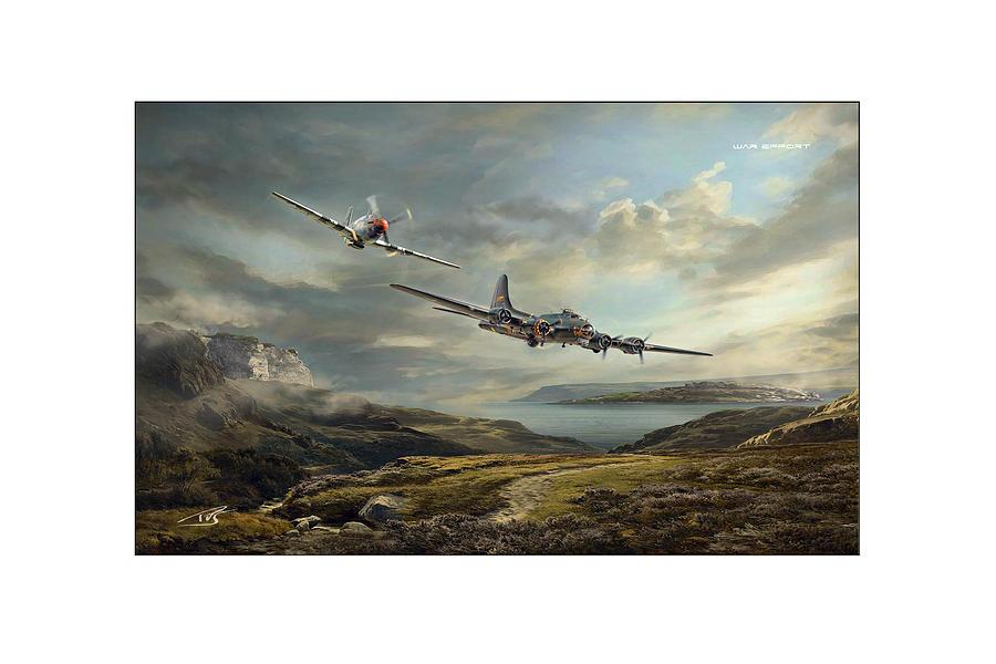 War Digital Art - War Effort by Peter Van Stigt