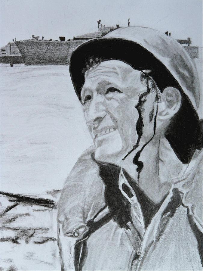 War Is Hell Drawing by Cathy Jourdan
