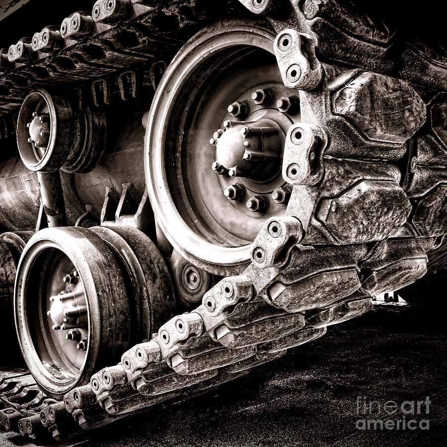 Sprocket Photograph - War Machine by Olivier Le Queinec