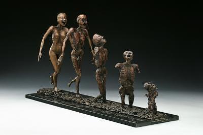 Vietnam Sculpture - War by Marsha De Broske