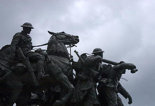 Statues Photograph - War Memorial - Ottawa by Catherine Kelly