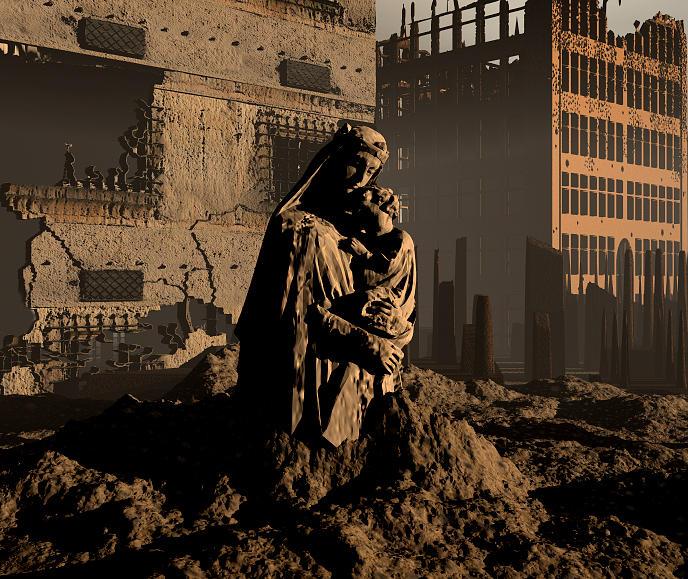 War Digital Art by Russ Walker