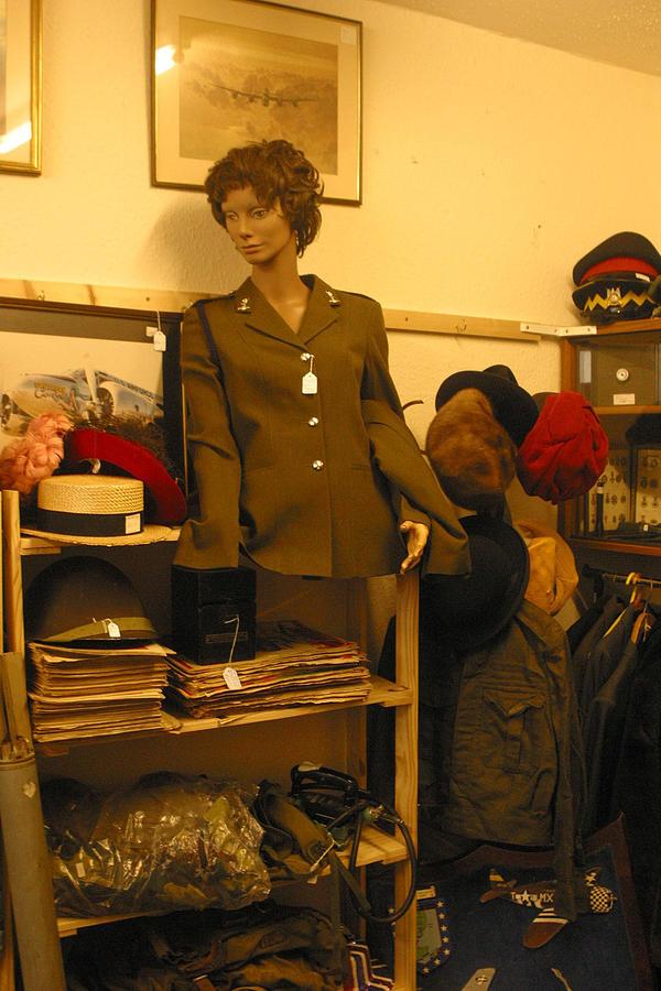 Photographer Photograph - War Stuff War Be Stuffed by Jez C Self