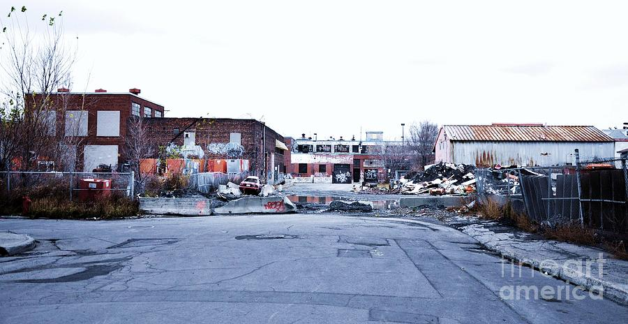 Abandoned Places Photograph - War Zone 3 Montreal by Reb Frost