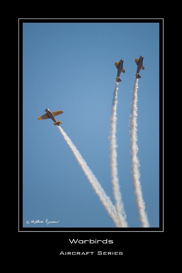 War Birds Photograph - Warbirds by Mathias Rousseau