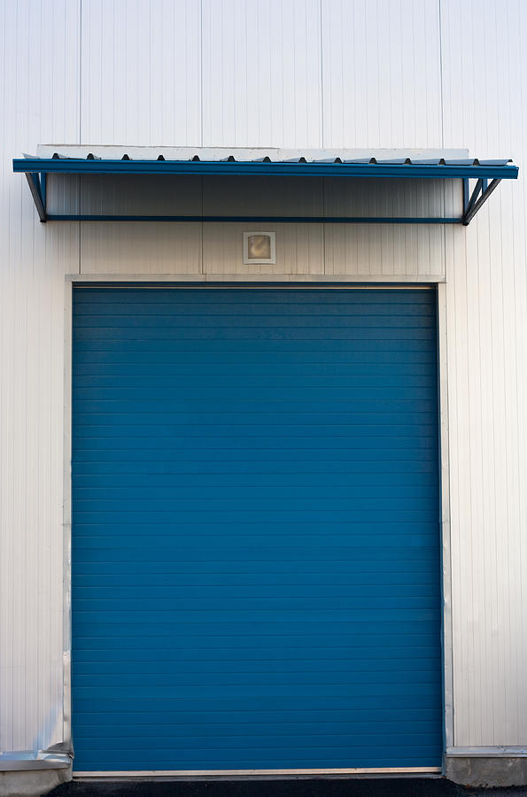 Architecture Photograph - Warehouse Door by Boyan Dimitrov
