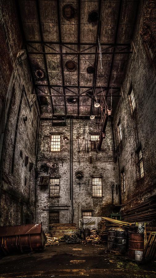 Abandoned Photograph - Warehouse  by Jakub Sisak