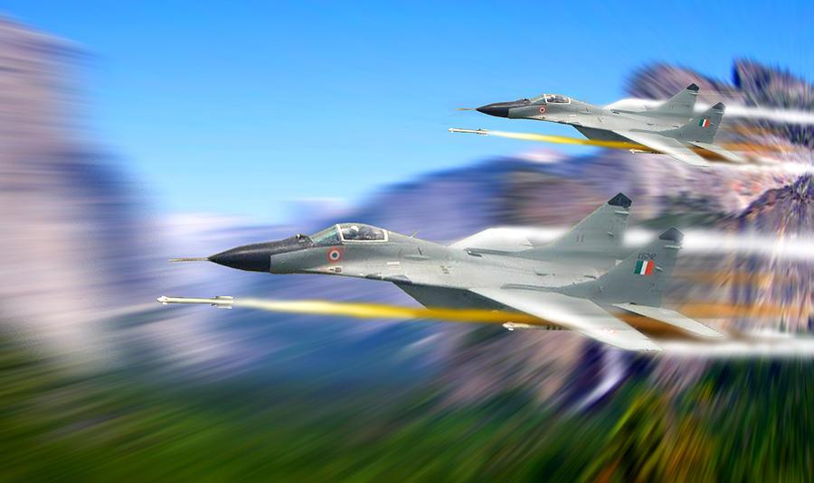 Jets Photograph - Warlords by Rashmi -