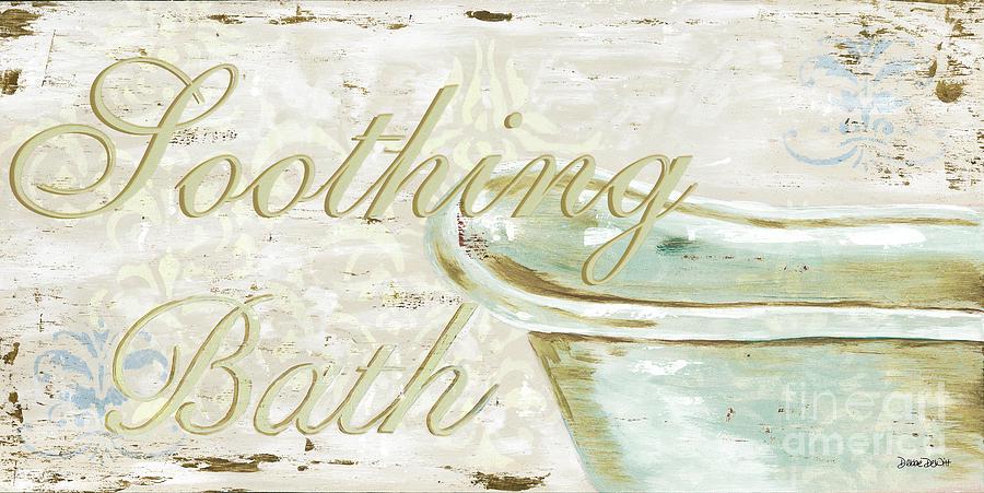 Bath Painting - Warm Bath 1 by Debbie DeWitt