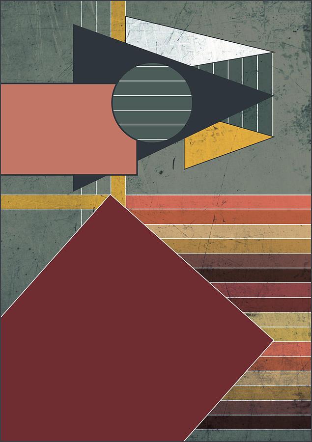 Colors Digital Art - Warm Colors by Roshestta Design