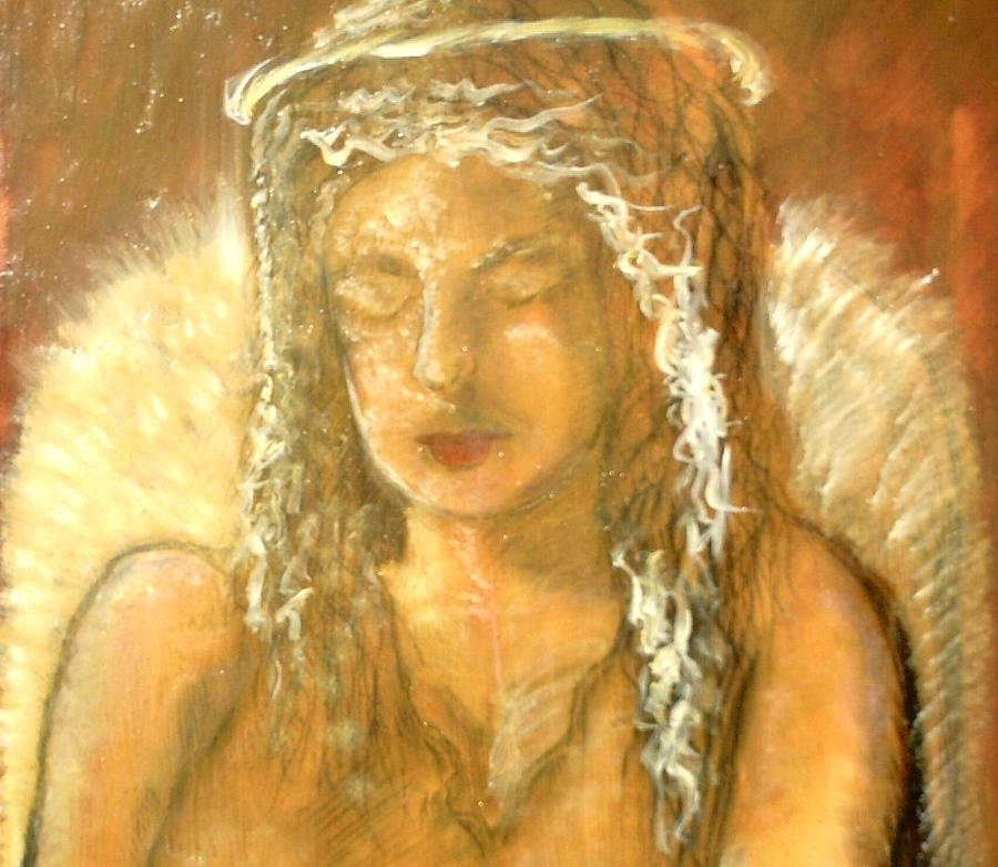 Angels Painting - Warm Dreams by J Bauer