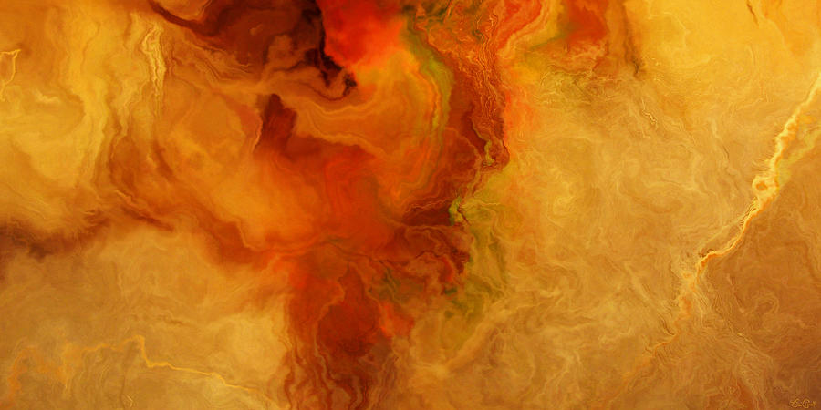 Warm Embrace - Abstract Art by Jaison Cianelli