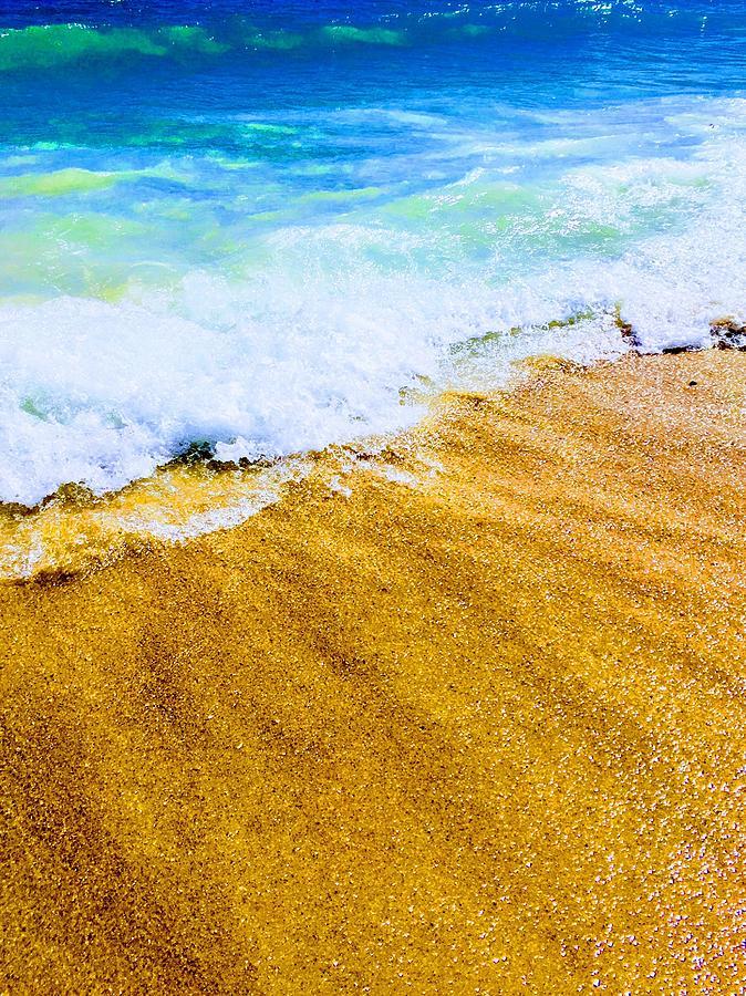 Sand Photograph - Warm Sand by Carmen Clark