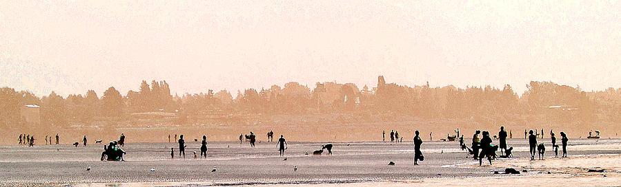 Beach Photograph - Warm Summer by Barbara  White
