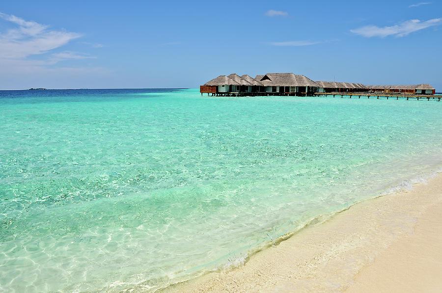 Maldives Photograph - Warm Welcoming. Maldives by Jenny Rainbow