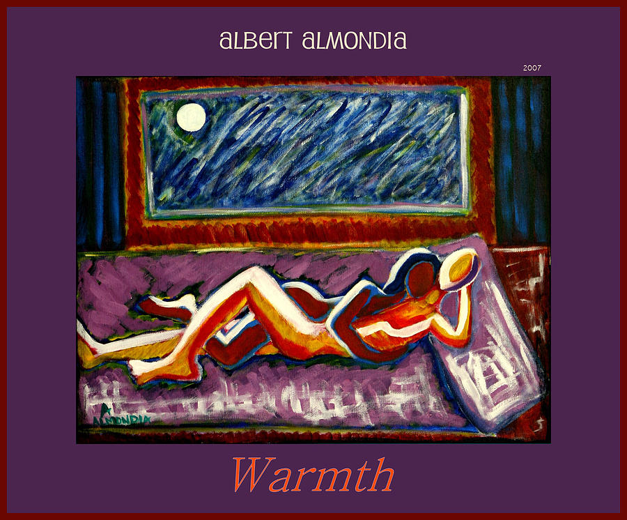 Relationships Painting - Warmth by Albert Almondia