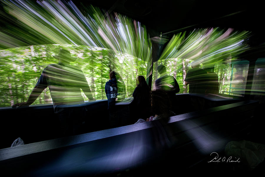 Color Photograph - Warp Speed 1 by Frederic A Reinecke