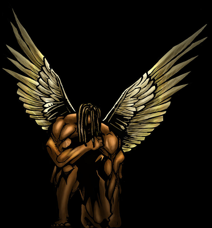 Warrior Angel Digital Art by Brandon Coley