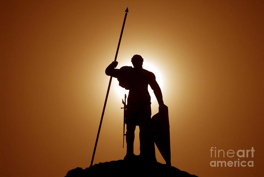 Warrior Photograph - Warrior by David Lee Thompson