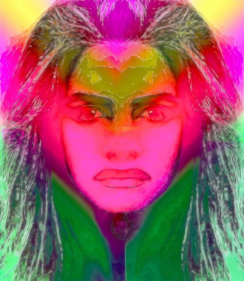 Warrior Goddess Digital Art - Warrior Goddess IIII by Devalyn Marshall