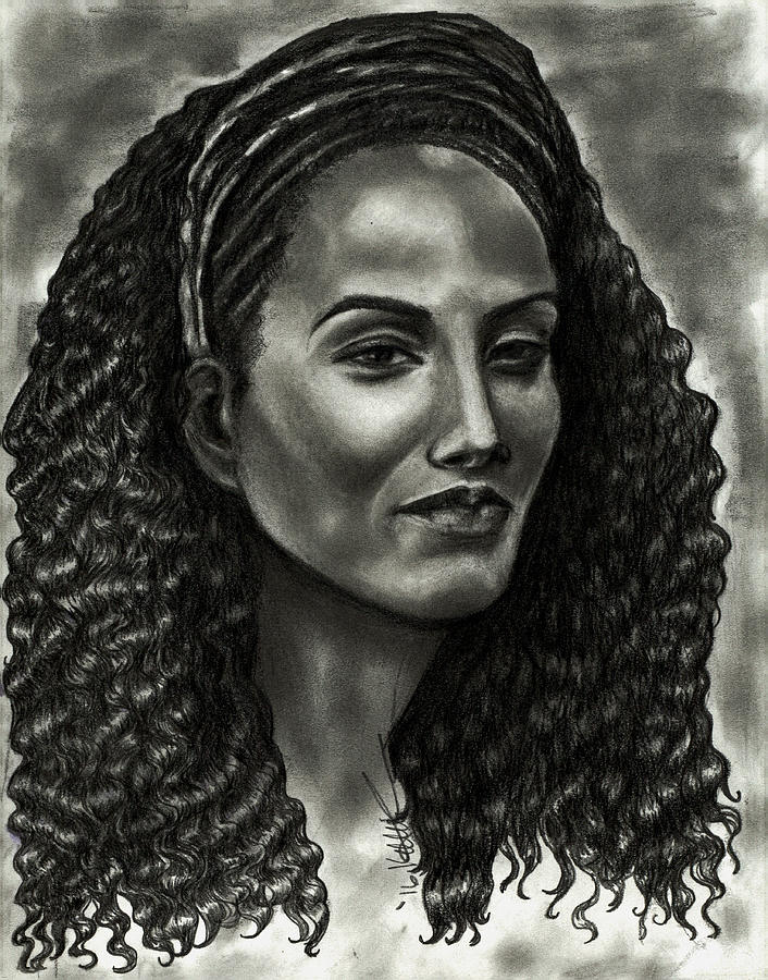 Warrior Heart Drawing By Kelly Cullen