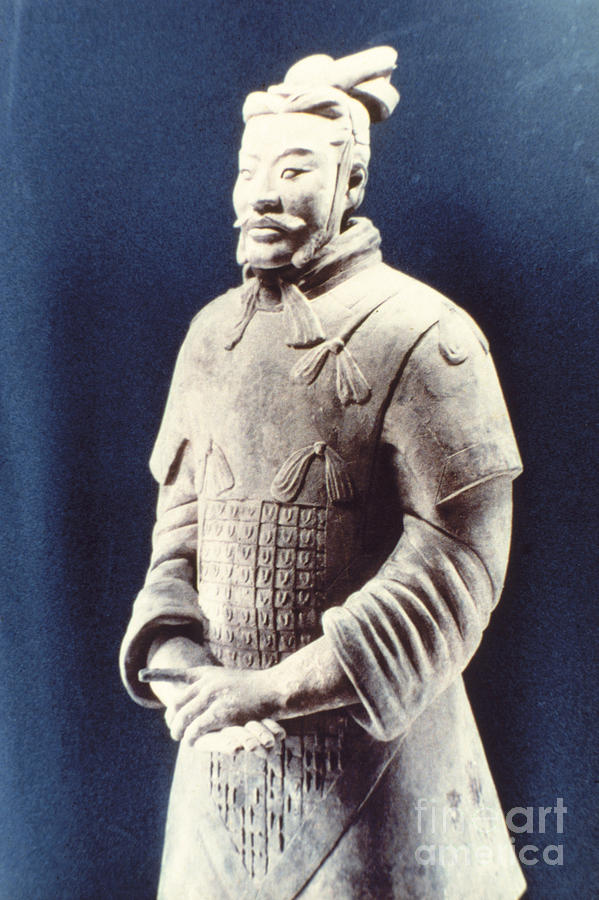 Warrior Of The Terracotta Army Photograph