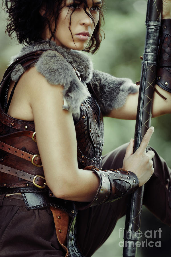 Got Photograph - Warrior Princess In Battle by Amanda Elwell