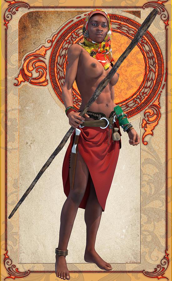 Warrior by Williem McWhorter