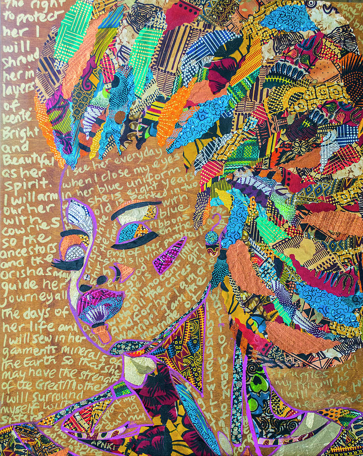 Warrior Woman by Apanaki Temitayo M
