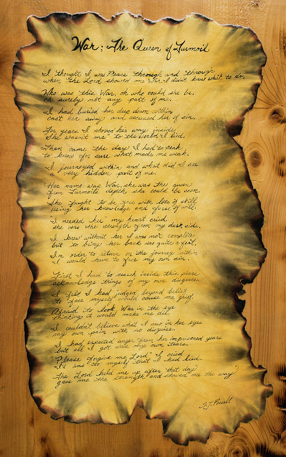 War's Poem by Sheri Jo Posselt
