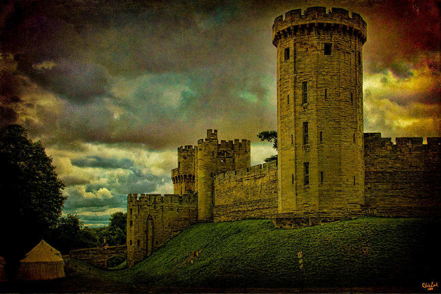 Castle Photograph - Warwick Castle by Chris Lord