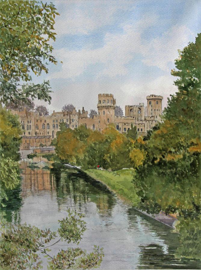 Warwick Castle Painting By George Levitt