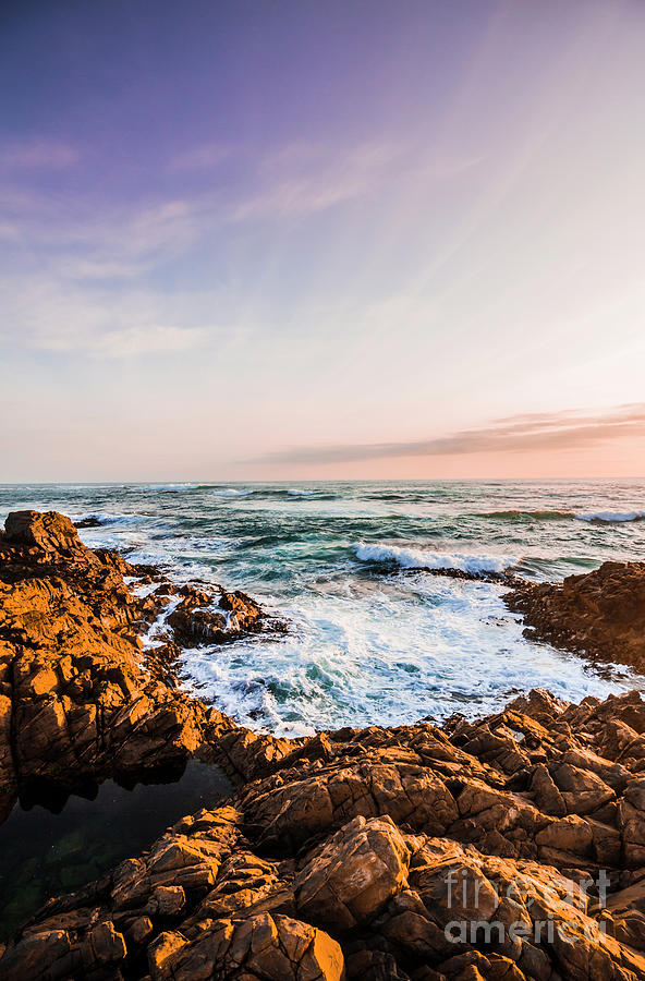 Landscape Photograph - Wash Of Pastel Seas by Jorgo Photography - Wall Art Gallery