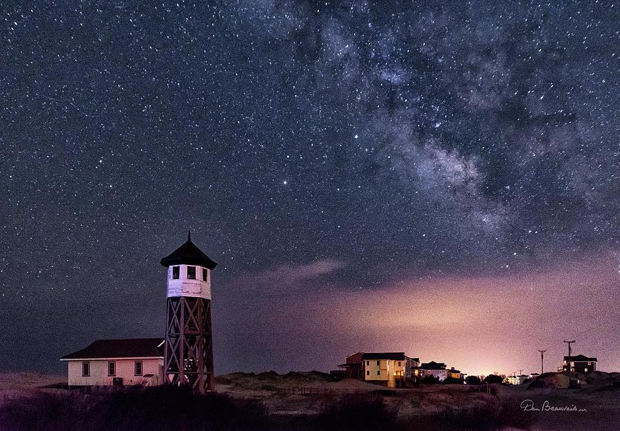 Wash Woods Milky Way 8091 Photograph