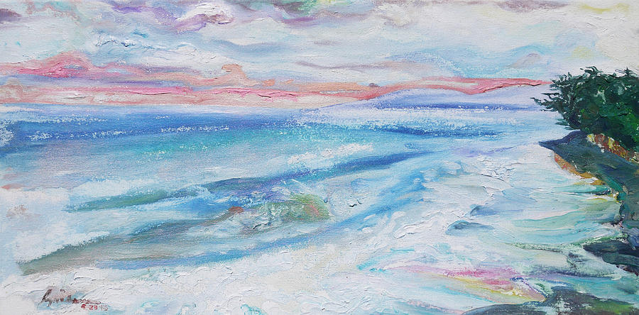Lahaina Painting - Washed Out at Olawalu by Joseph Demaree
