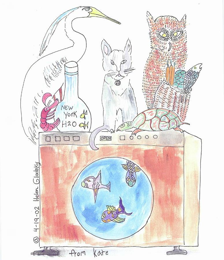 Washing Machine Friends by Helen Holden-Gladsky