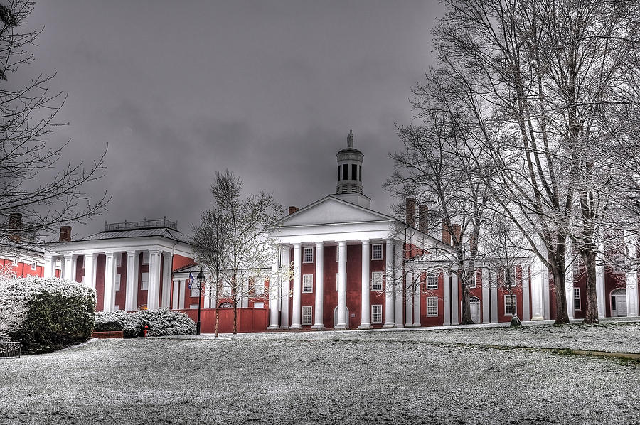 W&l Photograph - Washington and Lee Law School by Todd Hostetter
