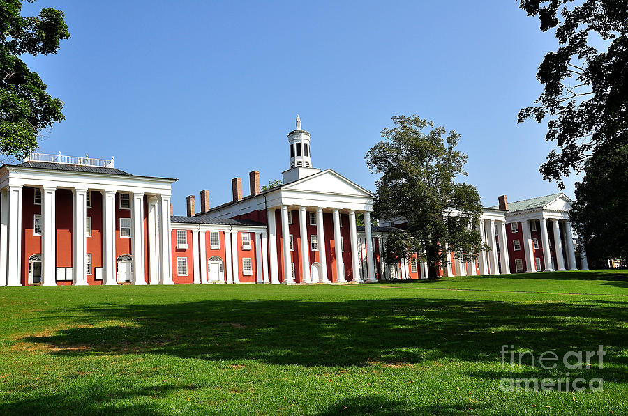 W&l Photograph - Washington And Lee by Todd Hostetter