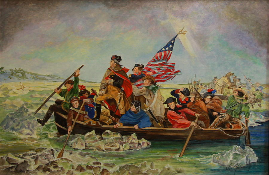 washington crossing chat Is washington crossing the delaware an example of romantic or neoclassical art.