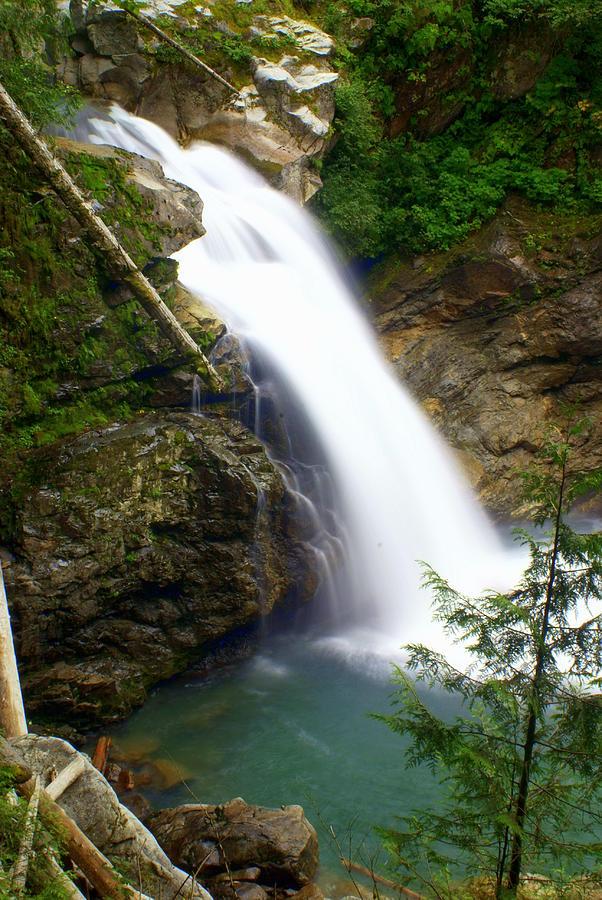 Waterfall Photograph - Washington Falls 2 by Marty Koch