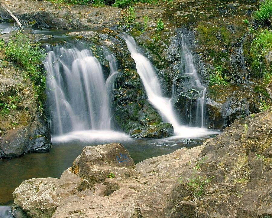 Waterfall Photograph - Washington Falls 3 by Marty Koch