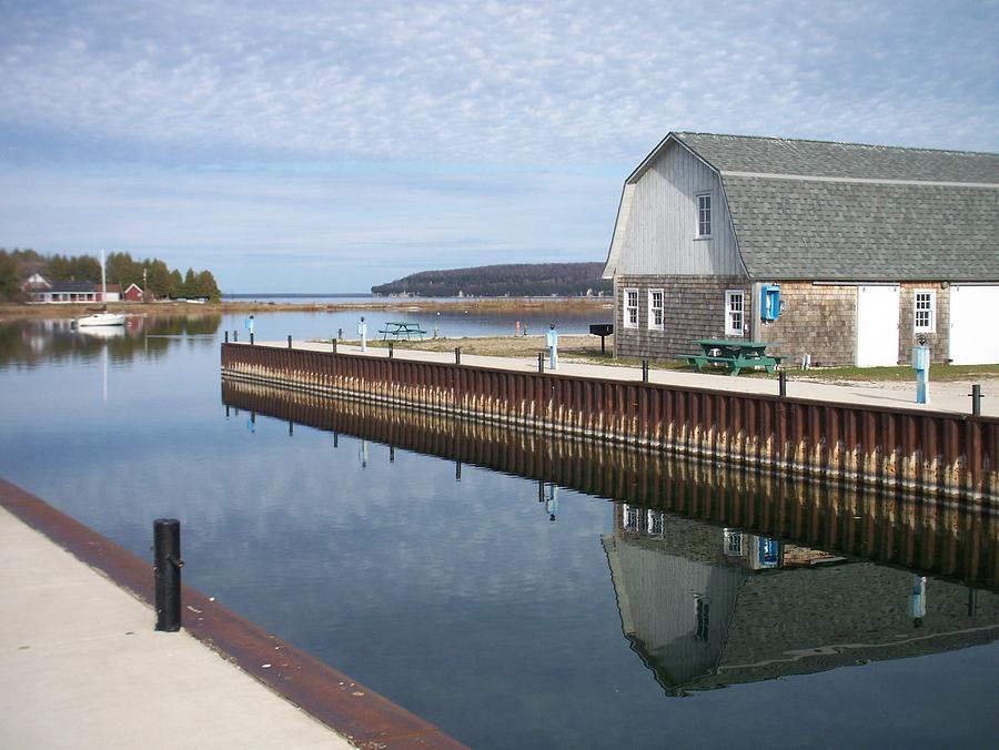 Washington Island Photograph - Washington Island Harbor 2 by Anita Burgermeister