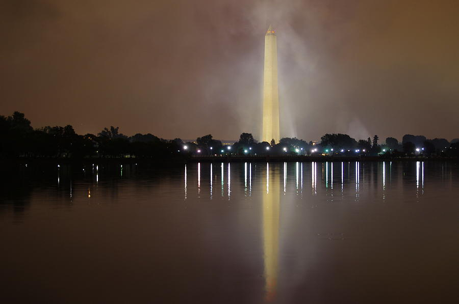 Washington Photograph - Washington Monument 2 by Adam Levin
